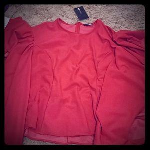 Womens fuschia blouse
